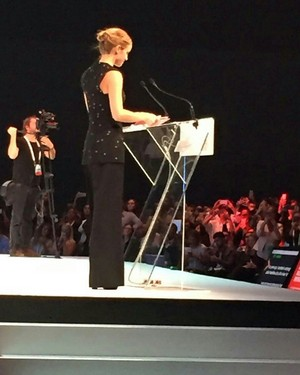 Emma Watson at 'One Young World' event in Ottawa, Canada. [29/9/2016]