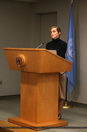 Emma Watson at the United Nations in New York(Sep 20 216)