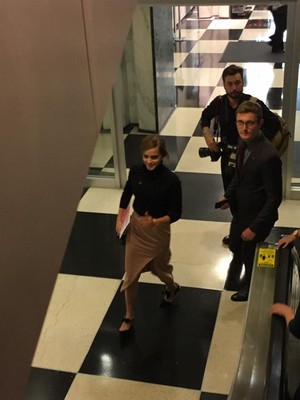 Emma Watson at the United Nations in New York [September 20, 2016]