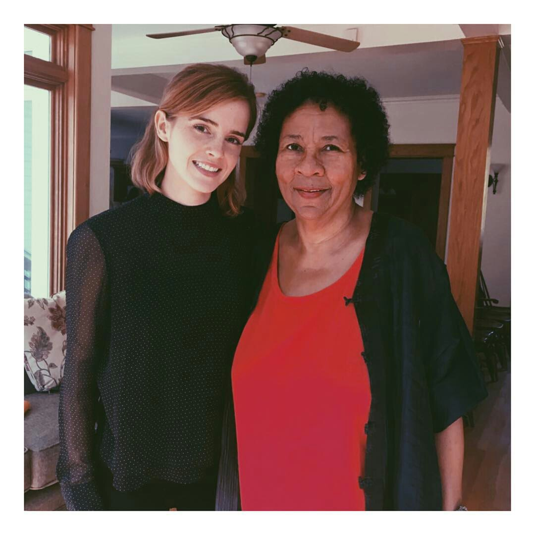 Emma Watson Images Emma Watson At The Bell Hooks Institute