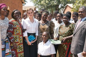 Emma Watson in Malawi to shine spotlight on need to end child marriages