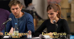 Emma and Dan (Belle and Beast) table, tableau read