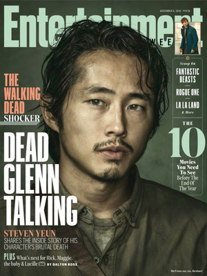 Entertainment Weekly Article ~ Gone Glenn