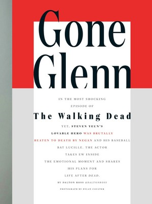 Entertainment Weekly articulo ~ Gone Glenn