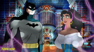 Esmeralda And Batman