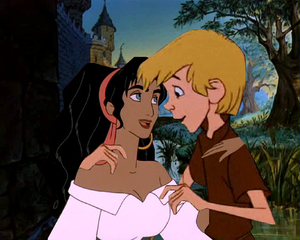 Esmeralda and Arthur Stay Lovely Together disney crossover.PNG