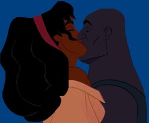 Esmeralda and Joshua Sweet kiss.PNG