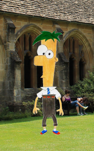 Childhood Animated Movie Characters fond d'écran entitled Ferb in Ravenclaw
