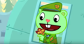 Flippy And Butterfly - happy-tree-friends photo