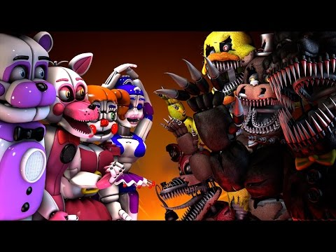 five nights at freddy's fondo de pantalla with anime titled Fnaf 5