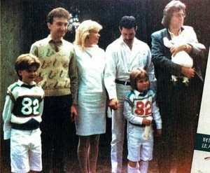 Freddie and John´s family