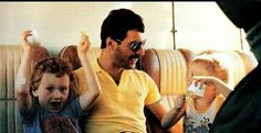 Freddie with Laura and Michael (John's son and daughter)