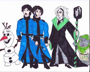Frozen feuer concept art - other characters