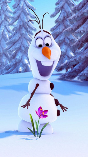 Frozen Olaf Phone Wallaper