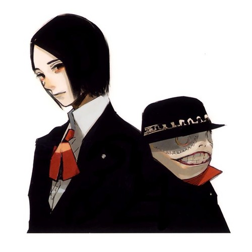 Tokyo Ghoul karatasi la kupamba ukuta entitled Furuta