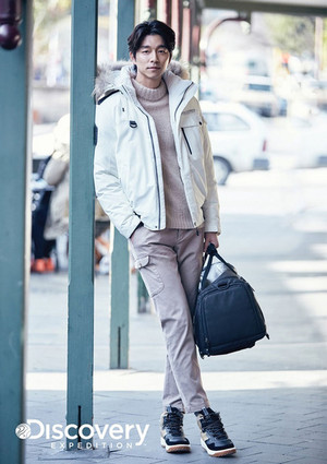 GONG YOO FOR 2016 F/W DISCOVERY EXPEDITION