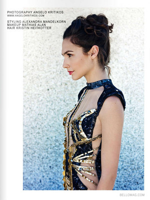 Gal Gadot - Bello Magazine Photosohot - 2013