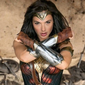 Gal Gadot as Diana Prince in Wonder Woman