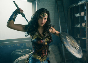 Gal Gadot as Diana Prince in Wonder Woman