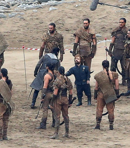 Game of Thrones wallpaper containing a green beret, a rifleman, and a navy seal called Game of Thrones- Season 7- Filming