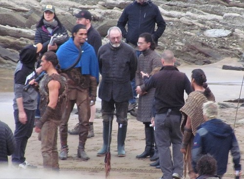 Game of Thrones wallpaper containing an alpinist called Game of Thrones- Season 7- Filming