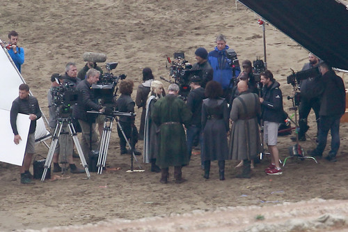 Game of Thrones wallpaper probably with a green beret and a navy seal called Game of Thrones- Season 7- Filming