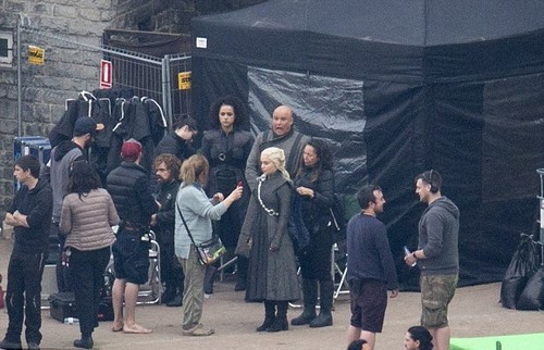 Game of Thrones wallpaper entitled Game of Thrones- Season 7- Filming