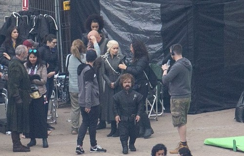 Game of Thrones wallpaper with a street called Game of Thrones- Season 7- Filming