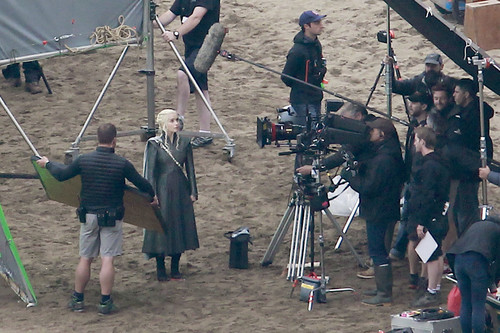 Game of Thrones wallpaper containing a green beret entitled Game of Thrones- Season 7- Filming