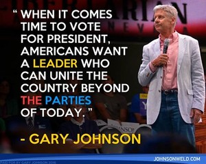 Gary Johnson Quote