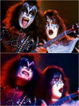 Gene and Ace ~San Diego, California…August 19, 1977 - kiss photo