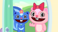 Giggles and Petunia. - happy-tree-friends photo