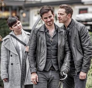 Ginnifer, Colin and Josh