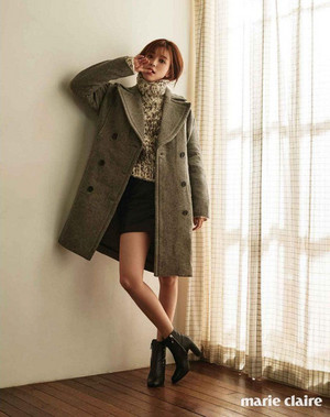 HAN HYO JOO FOR OCTOBER MARIE CLAIRE