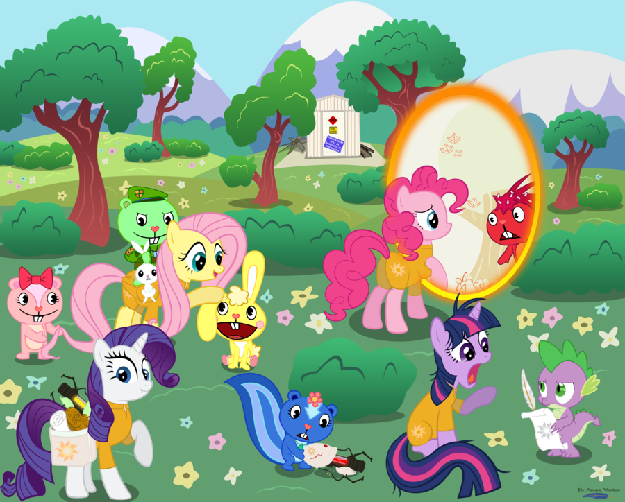 Htf And Mlp Happy Tree Friends Photo 39977692 Fanpop