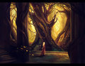Halls of Thranduil by megatruh - lord-of-the-rings fan art