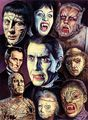 Hammer Horror art - hammer-horror-films fan art