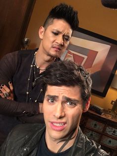 Harry and Matt - Shadowhunters Season 2 - BTS