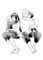 Hinata Hyuga and Naruto Uzumaki family - hinata-hyuga fan art