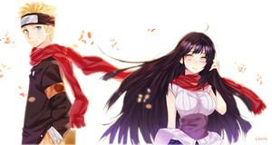 Hinata Hyuga and Naruto Uzumaki