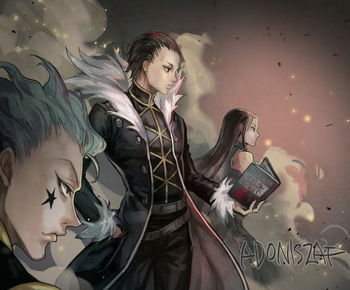 hunter x hunter wallpaper called Hisoka, Chrollo and Illumi