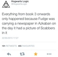 Hogwarts Logic - harry-potter photo
