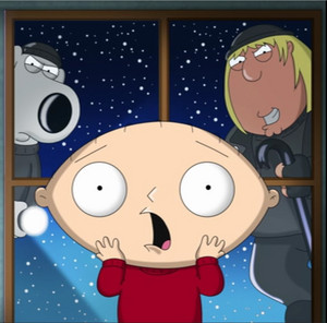 Home alone Stewie