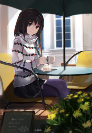 Homura Akemi // Puella Magi Madoka Magica