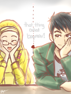 Honey limone and Tadashi