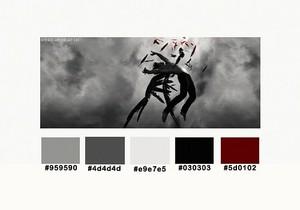 Hush, Hush - Color Palettes