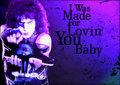 I Was Made for Loving You - kiss fan art