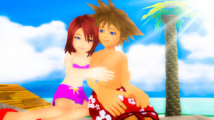 I'm always with anda Sora x Kairi SoKai Day.