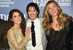 Ian, Nikki and Gisele Bundchen