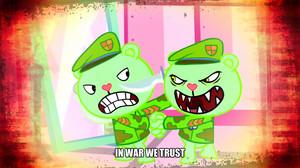 In war we trust.